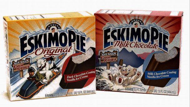 PHOTO: Eskimo Pie packaging in the style of the 1920's was released for the product's 75th anniversary in 1997. (KRT via Newscom)