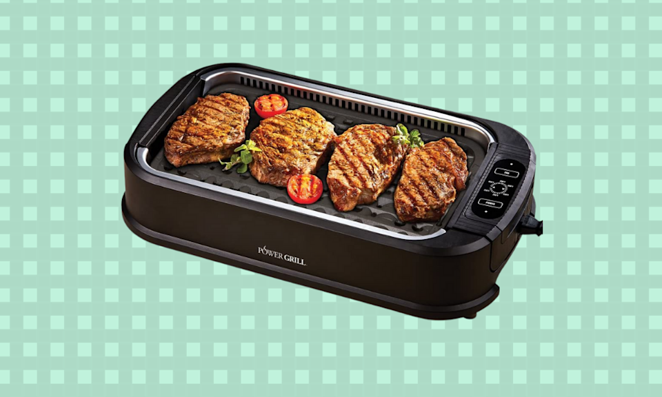 This indoor grill is a bad-weather BBQsaver. (Photo: Amazon)