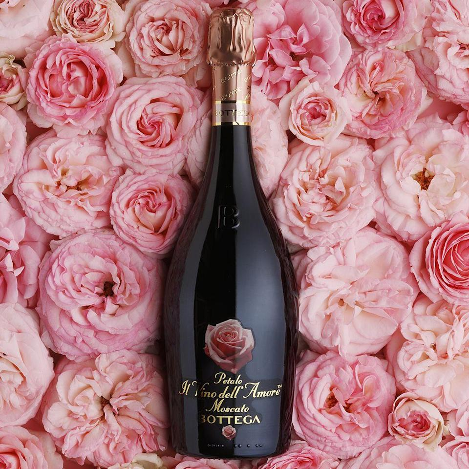 "<p>Named 'Il Vino dell'Amore' ('the Wine of Love'), Bottega's rose-scented muscat is sure to set hearts aflutter. Bring it to a romantic picnic, weather-permitting, or pair it with red fruits or a box Turkish Delight.</p><p>£15.50, Bottega</p><p><a class=""link rapid-noclick-resp"" href=""https://go.redirectingat.com?id=127X1599956&url=https%3A%2F%2Fwww.harveynichols.com%2Fbrand%2Fbottega%2F3102238-petalo-moscato-spumante-dolce-nv%2Fp3611912%2F&sref=https%3A%2F%2Fwww.townandcountrymag.com%2Fuk%2Flifestyle%2Fg35147769%2F14-gift-ideas-for-valentines-day%2F"" rel=""nofollow noopener"" target=""_blank"" data-ylk=""slk:SHOP NOW"">SHOP NOW</a></p>"