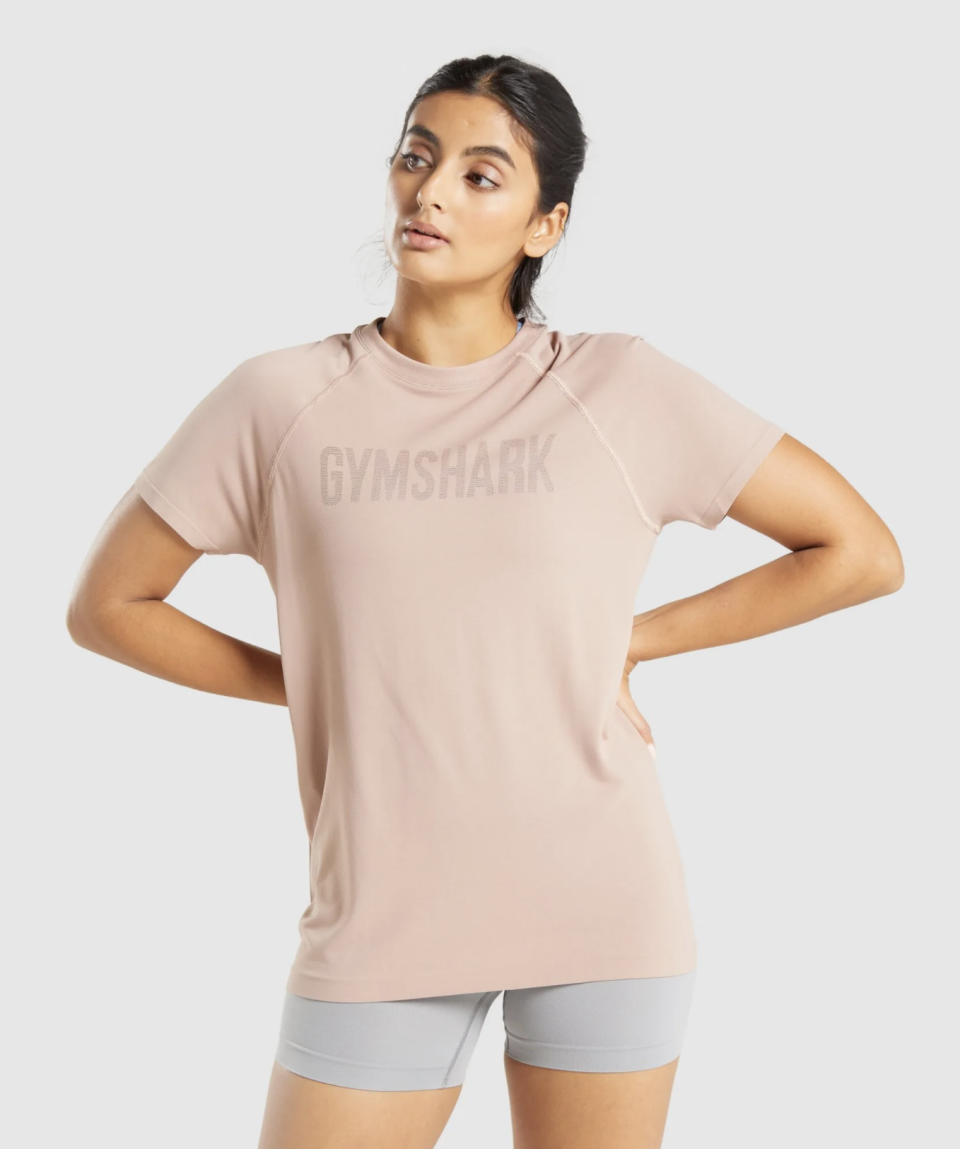 Fit Seamless T-Shirt. Image via Gymshark.