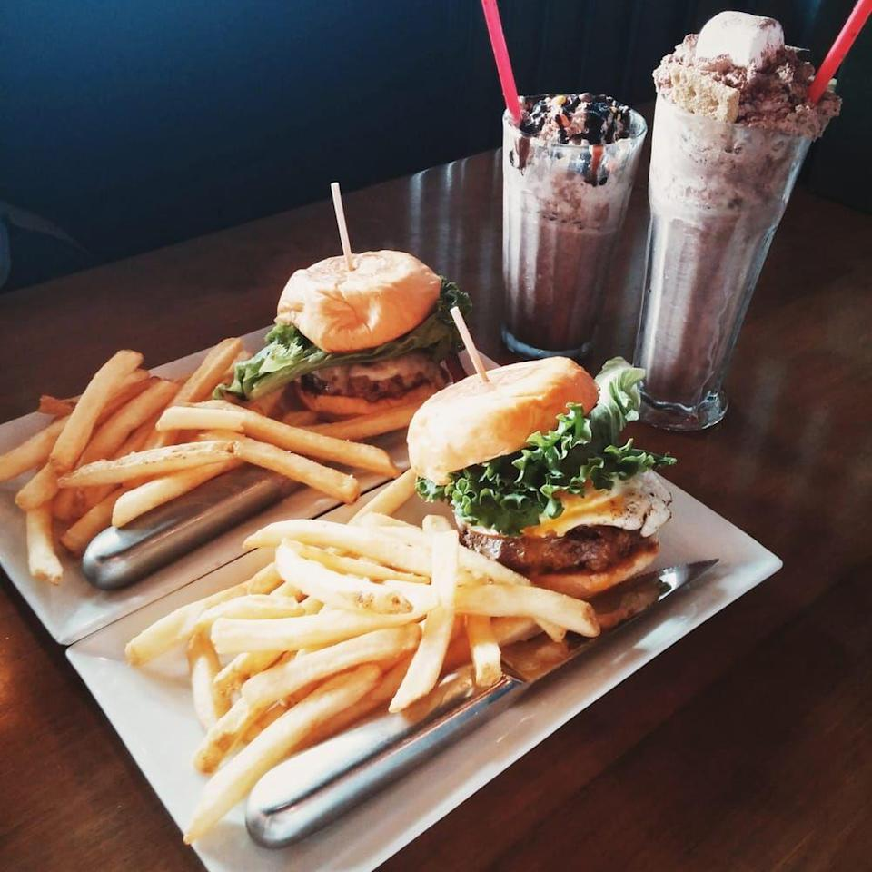 """<p><a href=""""http://www.yelp.com/biz/burger-republic-nashville-4"""" rel=""""nofollow noopener"""" target=""""_blank"""" data-ylk=""""slk:Burger Republic"""" class=""""link rapid-noclick-resp"""">Burger Republic</a>, Nashville</p><p>""""So happy this was our last stop in Nashville — we were tired and just wanted a good burger! We ended up with great burgers, great service, and a spiked shake that was awesome! Will visit again."""" - Yelp user <a href=""""https://www.yelp.com/user_details?userid=oxLfaE_SNNzFQMD-FdGR-w"""" rel=""""nofollow noopener"""" target=""""_blank"""" data-ylk=""""slk:Kelly S."""" class=""""link rapid-noclick-resp"""">Kelly S.</a></p>"""