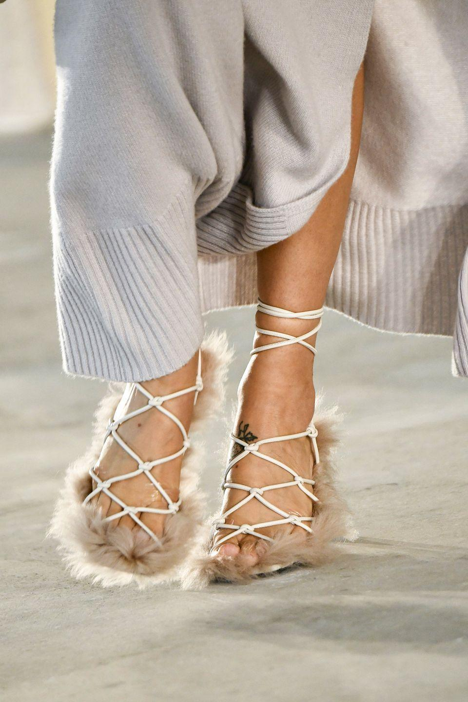 <p>Altuzarra offers a solution to easing back into heels after spending so much time in slippers over the last year.</p>
