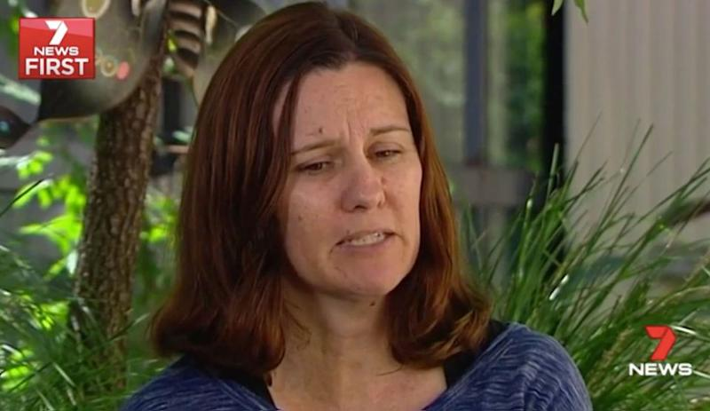 Kylie Appleyard and husband John rushed to the community centre. Source: 7 News
