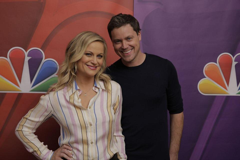 <p>Not only are Amy and Greg Poehler both wildly funny and talented, but they're both actors in Hollywood and have nearly identical dimples and round faces.</p>