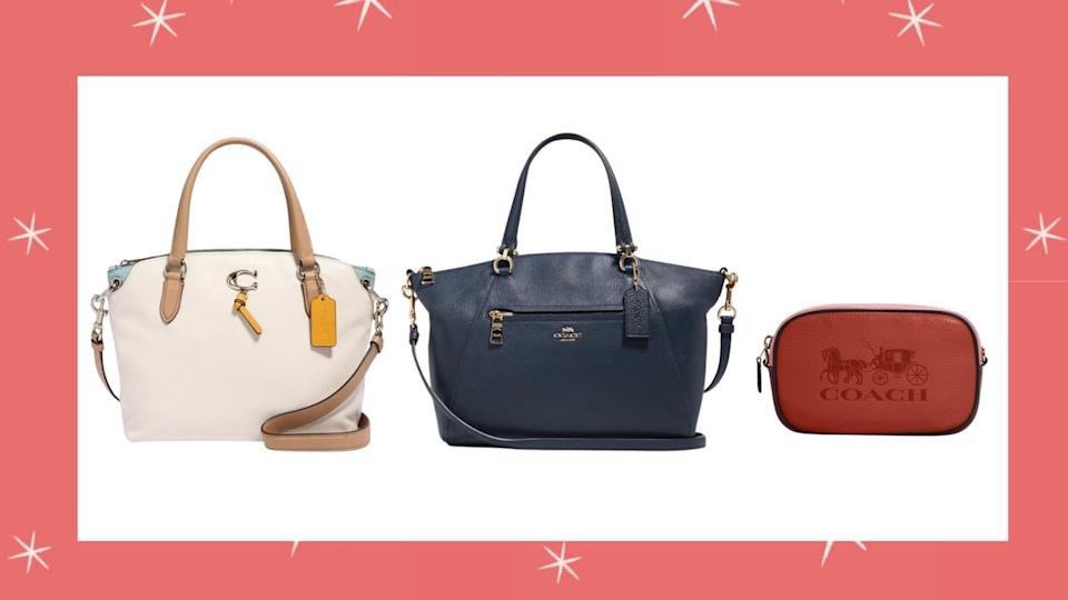 The Black Friday sale at Coach Outlet features up to 70% on everything.