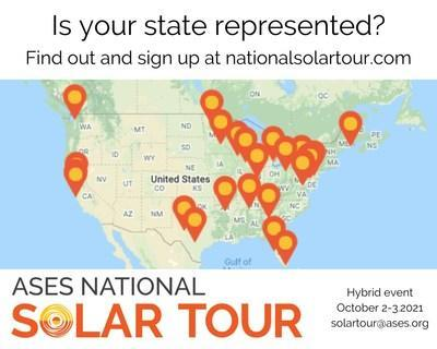 Sign up to organize a local solar tour or a solar site on the National Solar Tour!  The biggest popular solar event will take place virtually and in neighborhoods near you on October 2-3, 2021, but you can host your local solar tour or solar site any time of the year.  The deadline to register is August 15th.  Learn more at nationalsolartour.org.