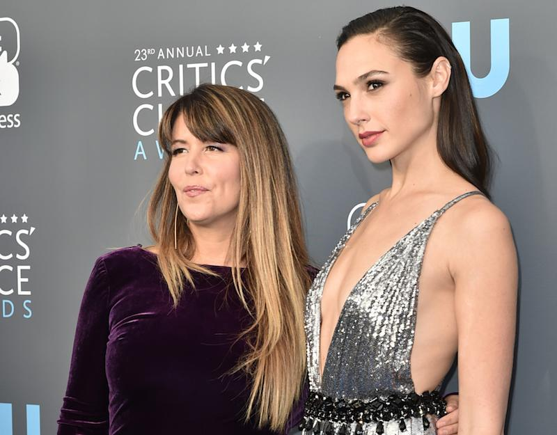 Gal Gadot and Patty Jenkins were the image of girl power on the 2018 Critics' Choice Awards red carpet