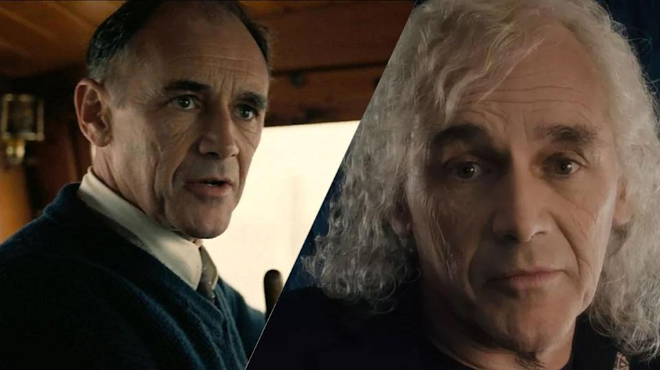 <p>Spielberg's favourite Mark Rylance played shaggy-haired James Halliday in the big screen version of Ernest Cline's book. </p>