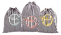 """<p>Whether she still comes home from college with her dirty laundry or she's about to graduate and enter the Real World, this striped laundry set will make the weekly chore much more glamorous. <b><a href=""""http://www.henribendel.com/henri-bendel-laundry-set-27822263660193.html?cgid=shop_accessories_cosmetic_bags-2&start=54"""" rel=""""nofollow noopener"""" target=""""_blank"""" data-ylk=""""slk:Henri Bendel Laundry Set"""" class=""""link rapid-noclick-resp"""">Henri Bendel Laundry Set</a> ($58)</b><br></p>"""