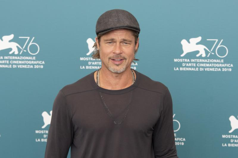 Brad Pitt at the 76 Venice International Film Festival 2019. Ad Astra photocall. Venice (Italy), August 29th, 2019 (Photo by Marco Piraccini/Archivio Marco Piraccini/Mondadori Portfolio via Getty Images)