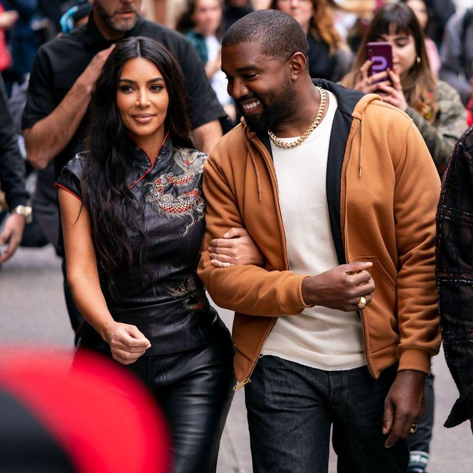 <p>The couple were seen out and about in Midtown, NYC in October.</p>