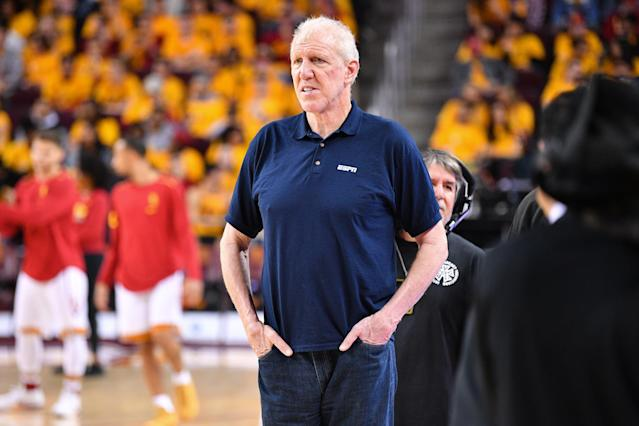 Bill Walton has his eyes on a former president to lead his alma mater's basketball team. (Getty Images)