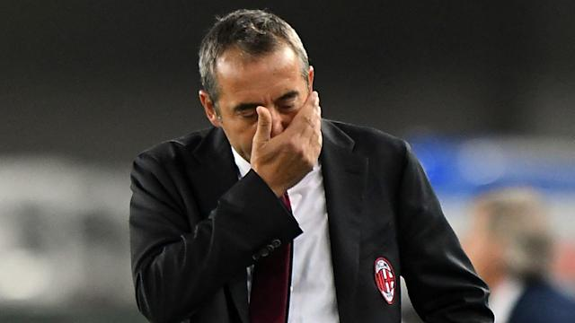 The 52-year-old has been revealed on his duties less than two months into the Serie A season, with the Rossoneri sitting in 13th place in the table