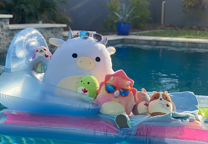 Squishmallows are a hot commodity these days.