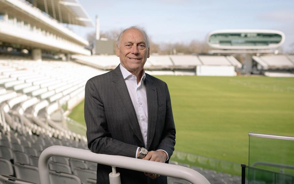Colin Graves at Lord's - ECB