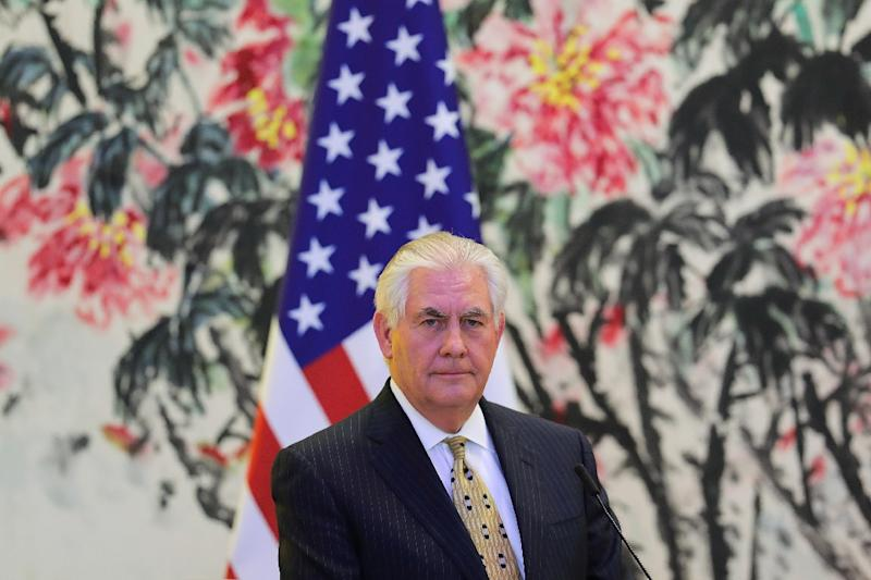 Lawyers say they cannot produce emails sent by current US Secretary of State Rex Tillerson under a pseudonym when he was still CEO of ExxonMobil (AFP Photo/Lintao Zhang)