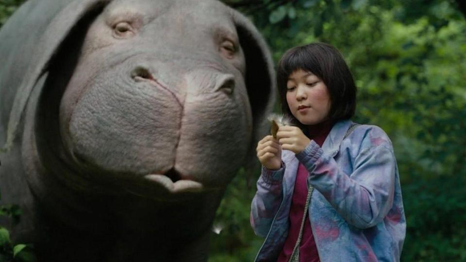 """<p>A bit more on the serious side, Okja is more of a satire than it is a full-fledged comedy. When the Mirando Corporation takes Okja, a giant unnamed animal, for their own use the animal's 10-year-old friend Mija hops into action to save him.</p><p><a class=""""link rapid-noclick-resp"""" href=""""https://www.netflix.com/watch/80091936?source=35"""" rel=""""nofollow noopener"""" target=""""_blank"""" data-ylk=""""slk:Watch Now"""">Watch Now</a></p>"""