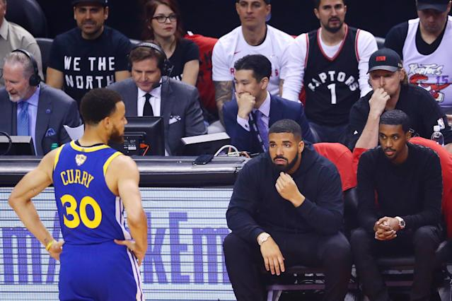 Drake has inserted himself into the sports lexicon like not even he likely dreamed of. (Getty)