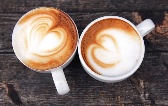 Two coffee cups.
