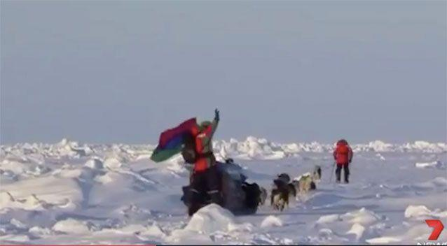 Fedor Konyukhov walked to the North and South poles. Source: 7News
