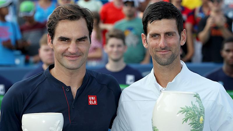 Ten years on, Federer focused on sixth US Open title