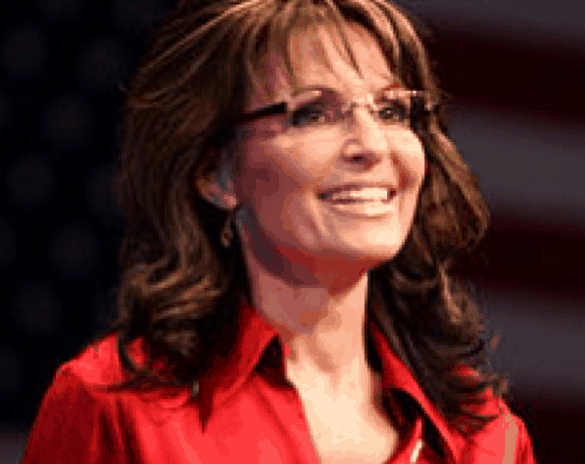 "Sarah Palin Calls Trump Protesters ""Thugs"" At A Donald Trump Rally"