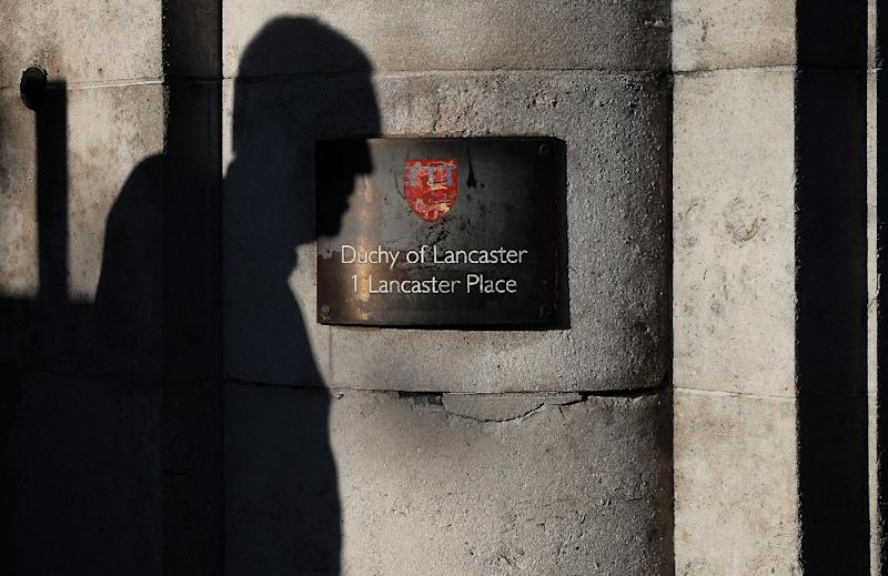 The Duchy of Lancaster says the queen's investments were fully legitimate (AFP Photo/Adrian DENNIS)
