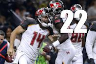 <p>It's a good problem to have, but think of what happens if Ryan Fitzpatrick plays two more good games as Jameis Winston serves his suspension. (Ryan Fitzpatrick) </p>