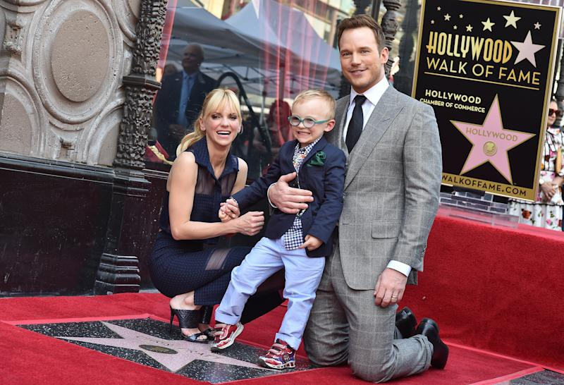 Anna Faris opened up about her son's medical battle in her memoir, <i>Unqualified</i>.  (Axelle/Bauer-Griffin via Getty Images)