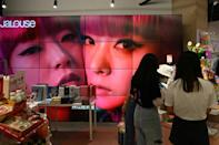 Boot camp-style talent TV shows inspired by Japanese and Korean pop culture and celebrity gossip have mushroomed in China over the past decade (AFP/JADE GAO)