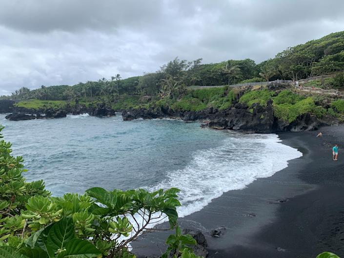 Visitors to Waianapanapa State Park in Hana, Hawaii, can't visit without reservations under a system that began March 1. Reservations can be made two weeks in advance and time slots go quickly.