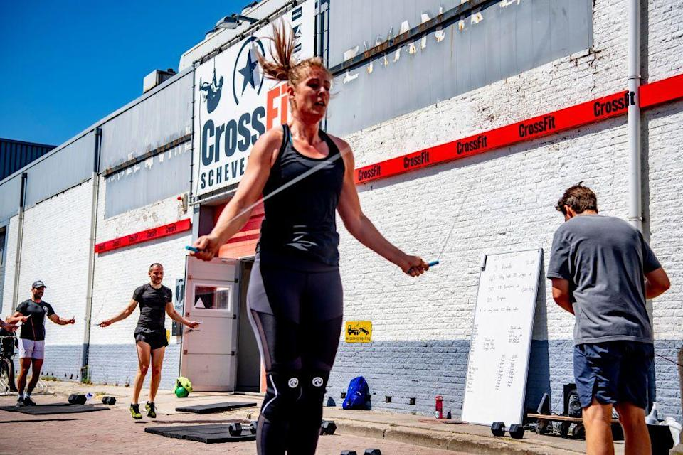 """<p>Some top-performing athletes devote their entire year to training for the next CrossFit Games—others <a href=""""https://morningchalkup.com/2019/04/19/can-athletes-really-make-a-living-doing-crossfit-my-experience-says-yes-opinion/"""" rel=""""nofollow noopener"""" target=""""_blank"""" data-ylk=""""slk:make it their full-time jobs"""" class=""""link rapid-noclick-resp"""">make it their full-time jobs</a>.</p>"""