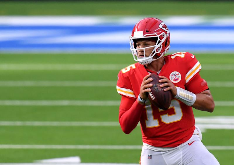 Patrick Mahomes is leading the Chiefs and their bid to repeat as Super Bowl championsGetty