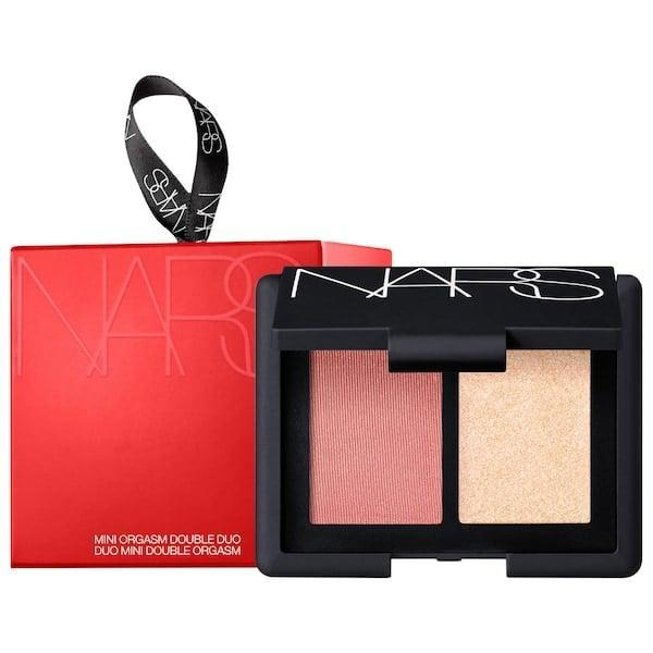 <p>With a complementary blush and highlighter inside, this <span>Nars Mini Orgasm Double Duo</span> ($24) with be a highlight of their holidays . . . even if the name leaves them blushing.</p>