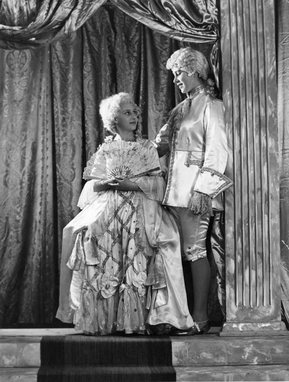 <p>Princess Margaret played Cinderella and Princess Elizabeth was Prince Charming for a pantomime at Windsor Castle. Casual, right?</p>