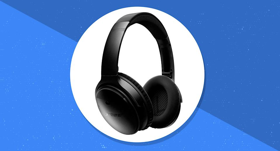 Score the popular noise-canceling headphones for a fraction of the price on eBay. (Photo: eBay)