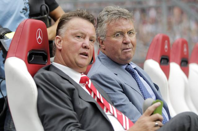 Guus Hiddink, Louis van Gaal