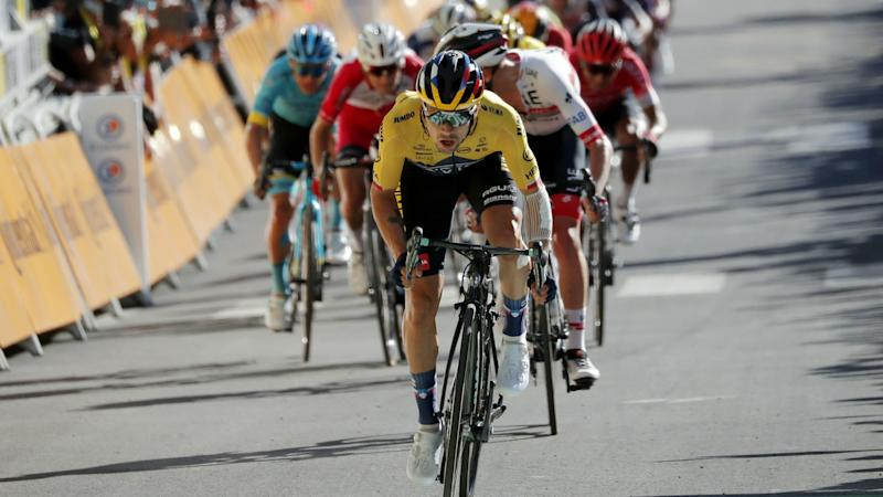 Roglic powers up Orcieres-Merlette for stage four glory