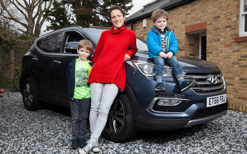 A young family will test the seven-seat Santa Fe's attributes - Rii Schroer