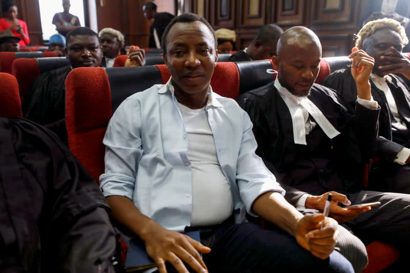 Nigerian activist Sowore re-arrested hours after he was freed: lawyer
