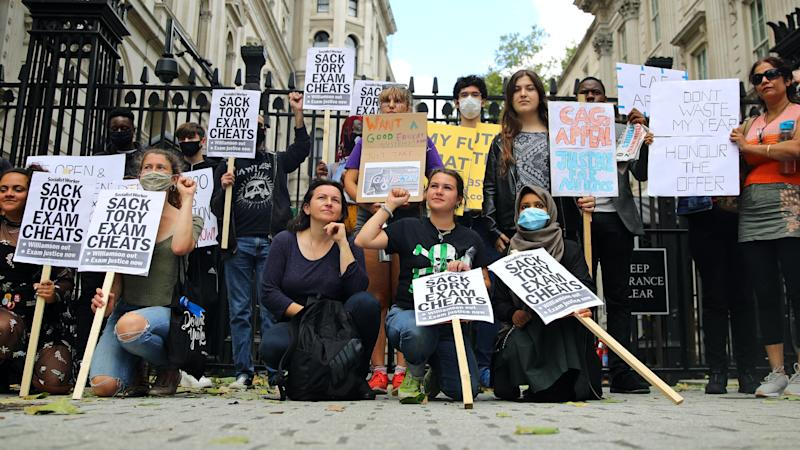 Protesters demand Williamson be sacked over exams fiasco