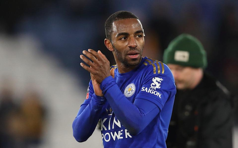 Pereira - Ricardo Pereira may return to Leicester City team for Europa League tie against Zorya Luhansk - GETTY