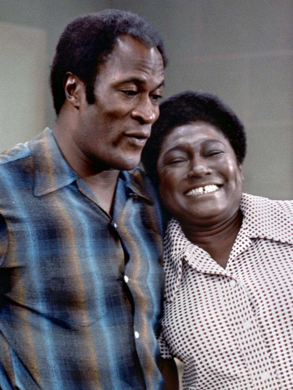 <p>With her cropped Afro and signature gap, the beloved and relatable Florida Evans, played by Esther Rolle, became a staple in Black households throughout the 1970s. The character was so loved that she went from a reoccurring role on <em>Maude </em>to starring in her own series <em>Good Times. </em></p>