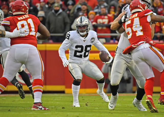 Young running backs paid dividends for the Raiders in 2019