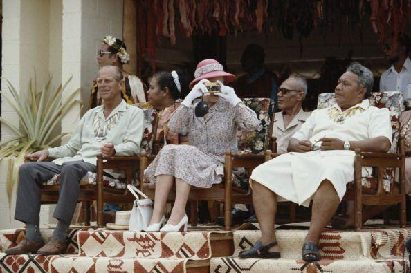 <p>Quite the shutterbug, Queen Elizabeth made sure to capture a personal snapshot during her visit to Tuvalu in 1982. The stop on the South Pacific tour was later carried out by her grandson, Prince William, and his wife in 2012. </p>