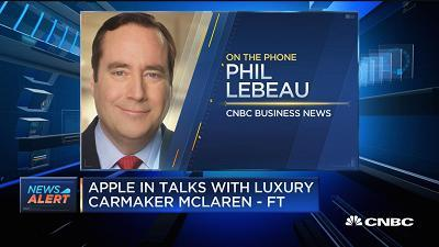 CNBC's Phil LeBeau weighs in on the news that Apple is potentially looking to buy luxury automaker McLaren.