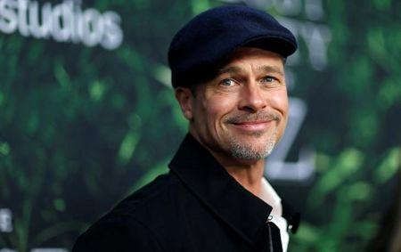 """Producer Brad Pitt poses at the premiere of the movie """"The Lost City of Z"""" in Los Angeles, California U.S., April 5, 2017.   REUTERS/Mario Anzuoni"""