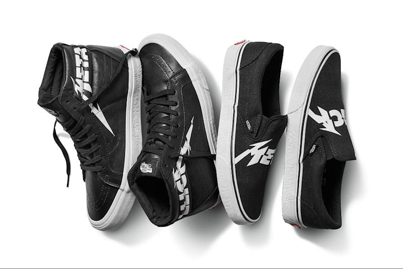 78a47b0383c6 Metallica Gets a New Logo With Its Third Vans Collection
