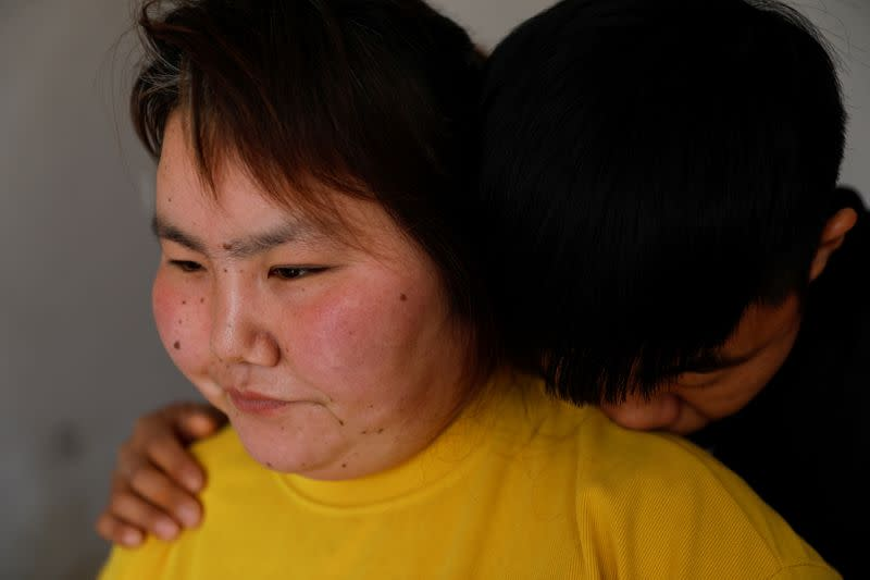 The Wider Image: 'I've let them down': Beijing's migrant workers miss family reunions on Lunar New Year