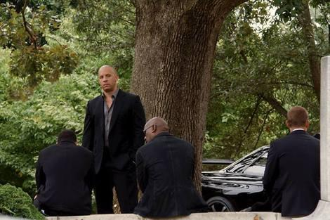 Cemetery Gazing in Fast and Furious 7